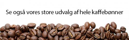 Se vores udvalg af hele kaffebønner
