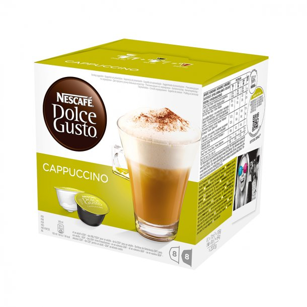 Dolce Gusto® kapsler Cappuccino