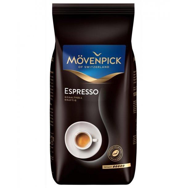 Mövenpick Espresso 1 kg hele kaffebønner