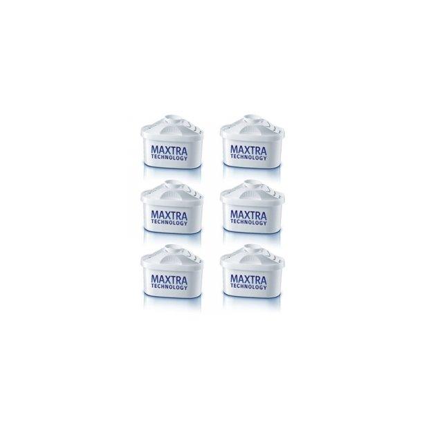 Brita Maxtra 6 stk. filtre - Danmarks billigste