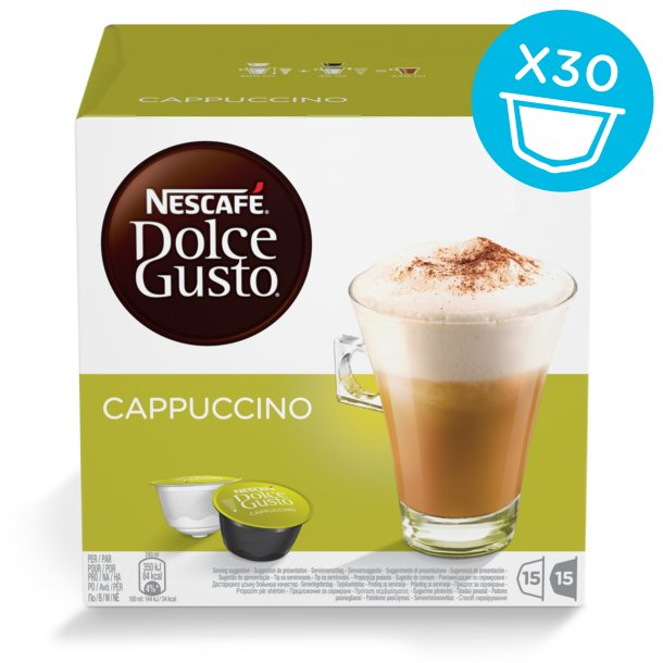 Dolce Gusto® kapsler Cappuccino BIG PACK