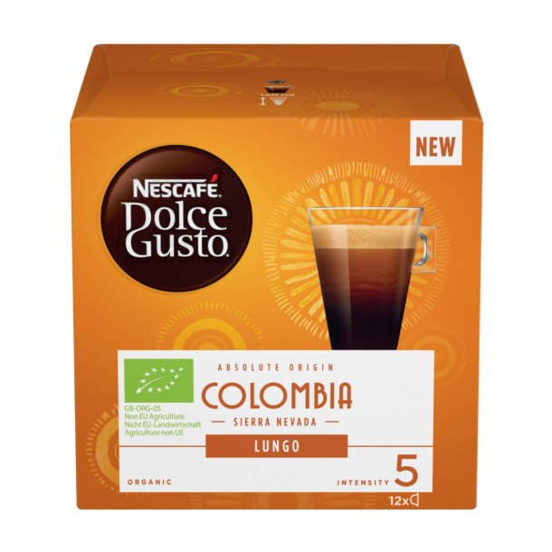 Dolce Gusto® Colombia lungo Økologisk