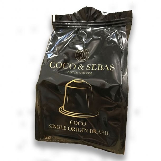 14 KAPSLER COCO & SEBAS SINGLE ORIGIN BRASIL