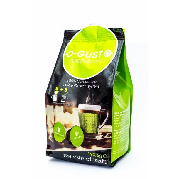 Cappuccino - O-GUST kompatible kapsler til Dolce Gusto®