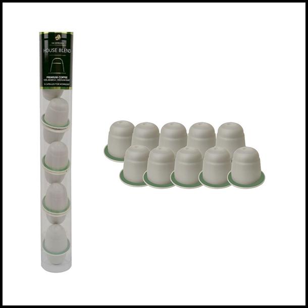 House Blend - 10 stk. komposterbare kapsler - Coffeeroots