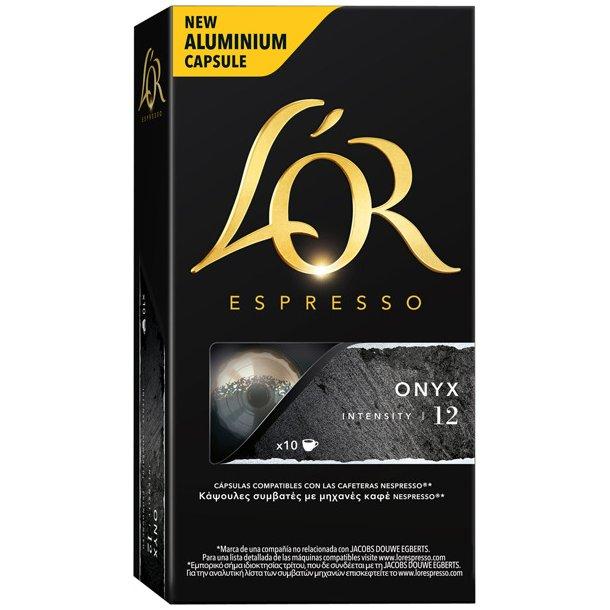 L'OR ONYX - 10 kapsler til Nespresso®