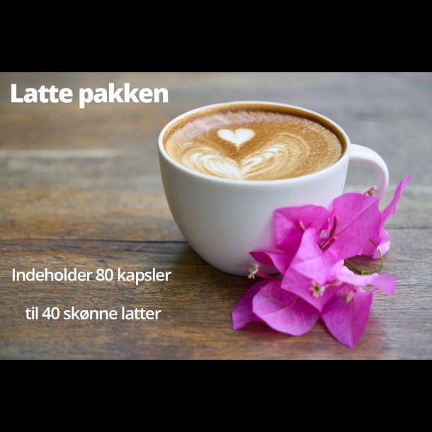 Cafe Latte pakken til Nespresso®