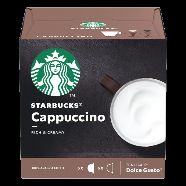 Starbucks® Cappuccino til Dolce Gusto®