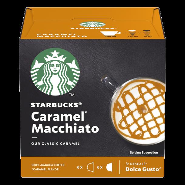 Starbucks® Caramel Macchiato til Dolce Gusto®