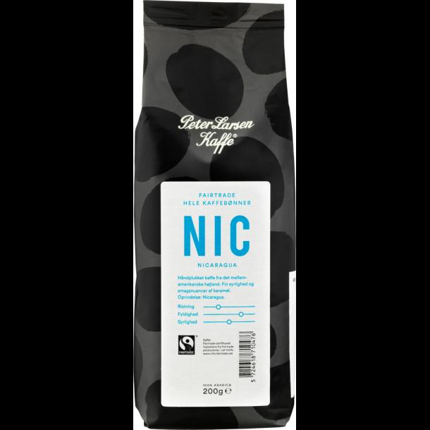 Peter Larsen Nicaragua (NIC) 200g hele kaffebønner