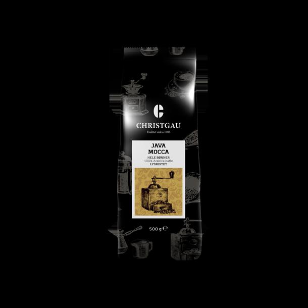 Christgau Java Mocca 500 g. hele kaffebønner
