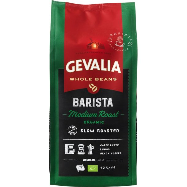 Gevalia Barista medium Roast Organic 425 gr.