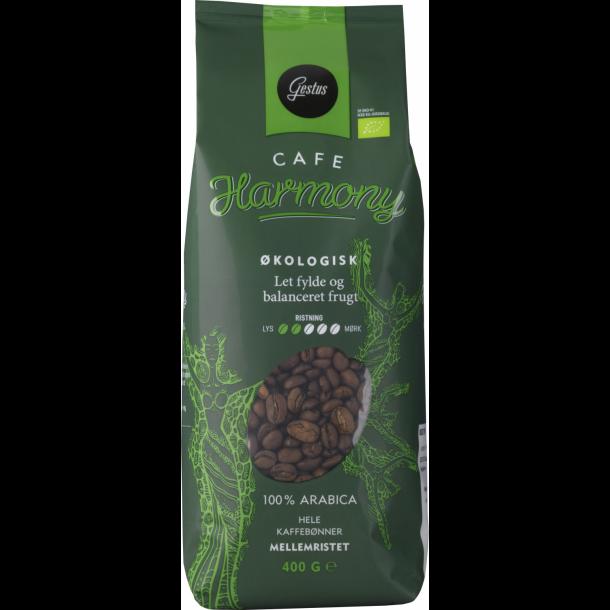 Gestus Cafe Harmony Økologisk 400 g. hele kaffebønner