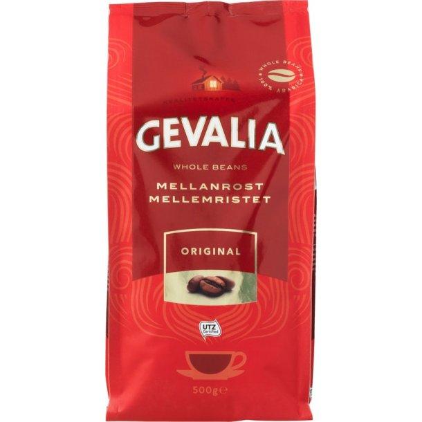 Gevalia Original mellemristet 500g hele kaffebønner