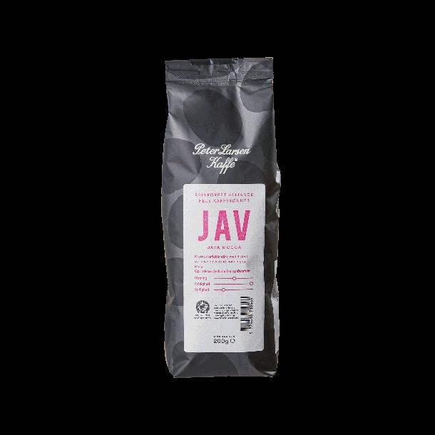 Peter Larsen Java Mocca 200g hele kaffebønner