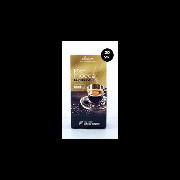 MEGA pakke 20 stk Java Mocca Espresso Coffeeroots