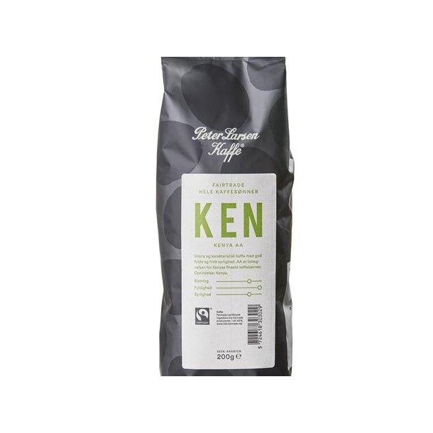 Peter Larsen Kenya AA 200g hele kaffebønner