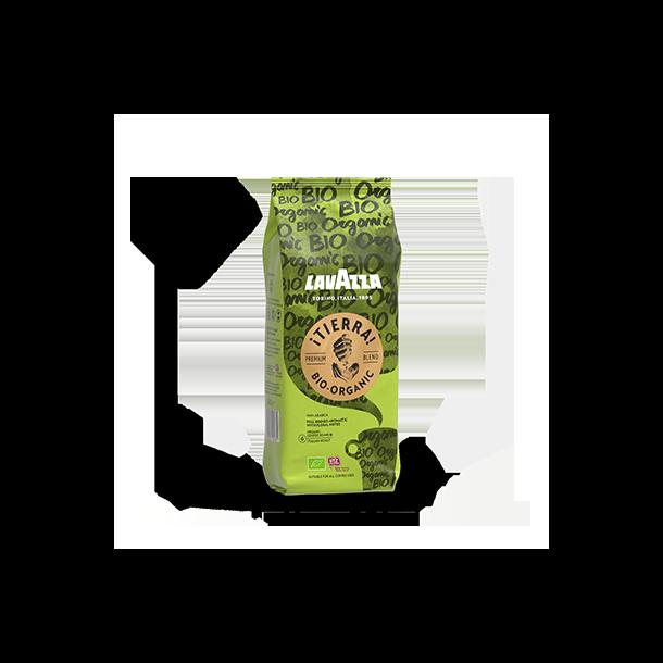 Lavazza Tierra Bio Organic 1 kg. hele kaffebønner